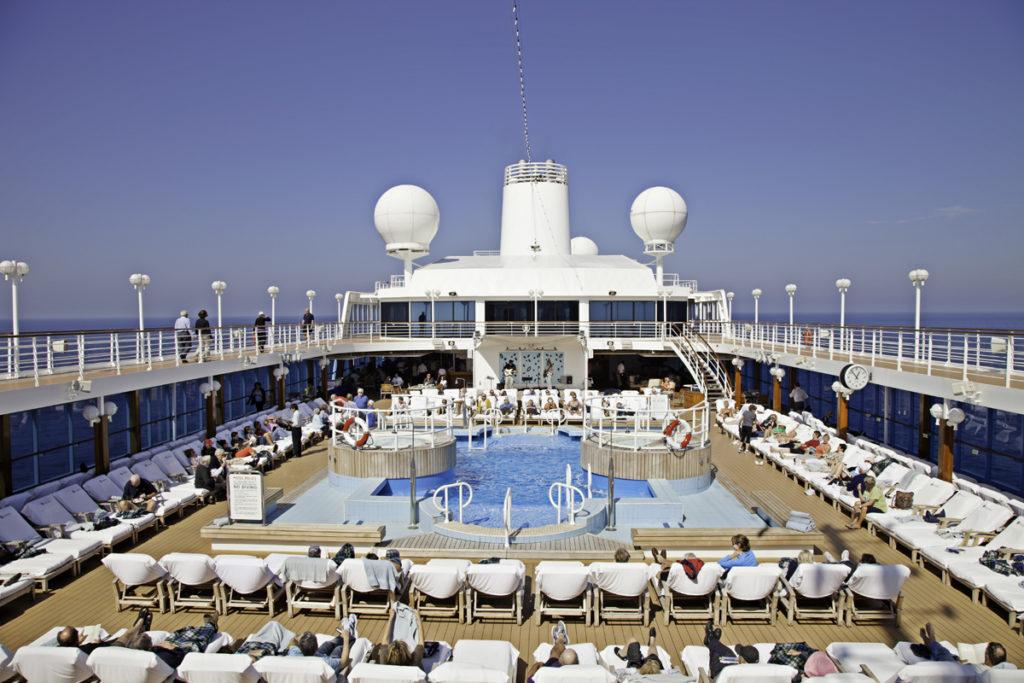 Azamara Club Cruises deck pool