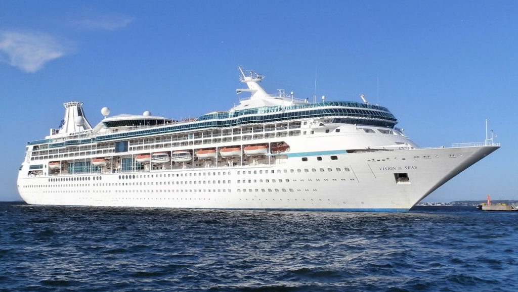 Celebrity Cruises departure Vison of the Seas