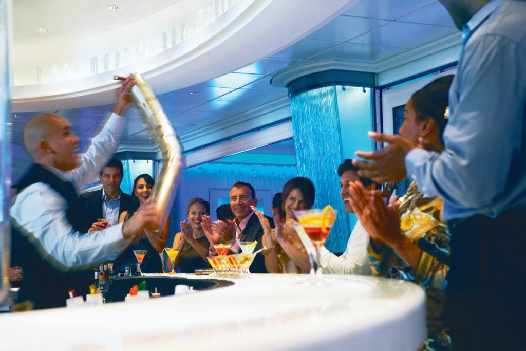 Celebrity Cruises Martini Bar