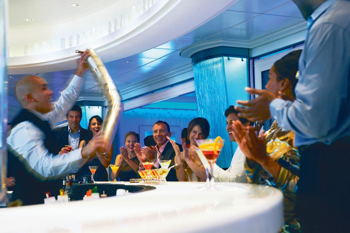 Celebrity Cruises Martini Bar