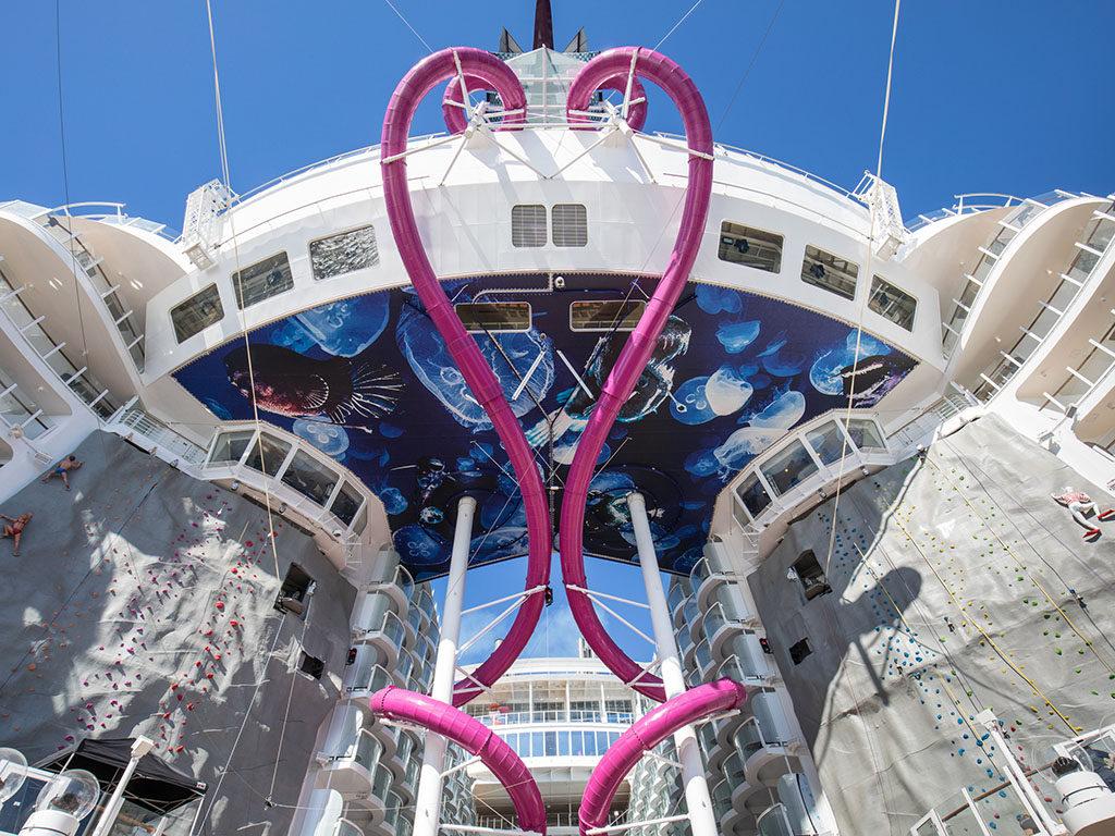 Royal Caribbean Symphone of the Seas slide