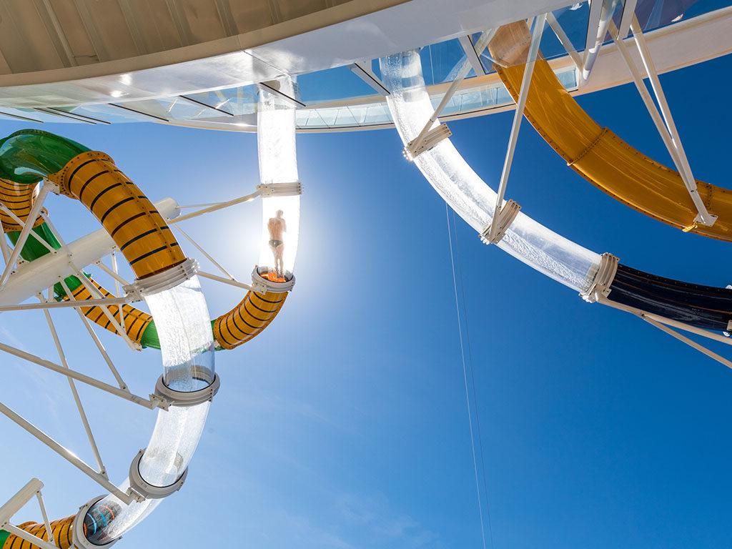 Royal Caribbean Water slide