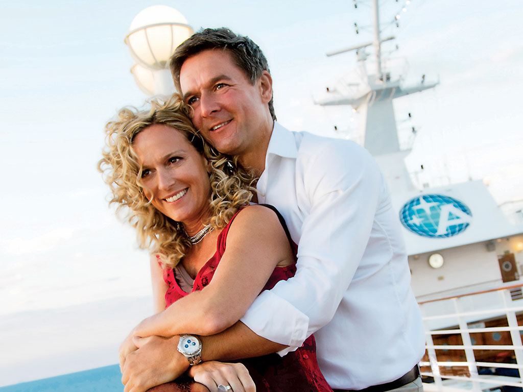 Azamara Club Cruises Couple
