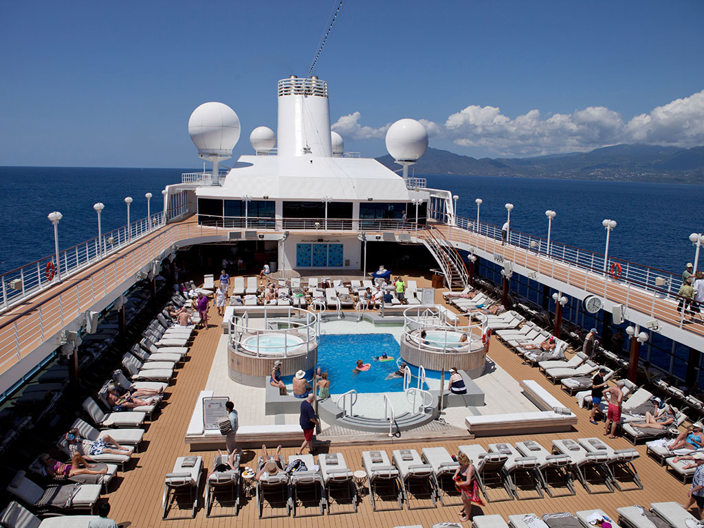 Azamara Club Cruises pool deck