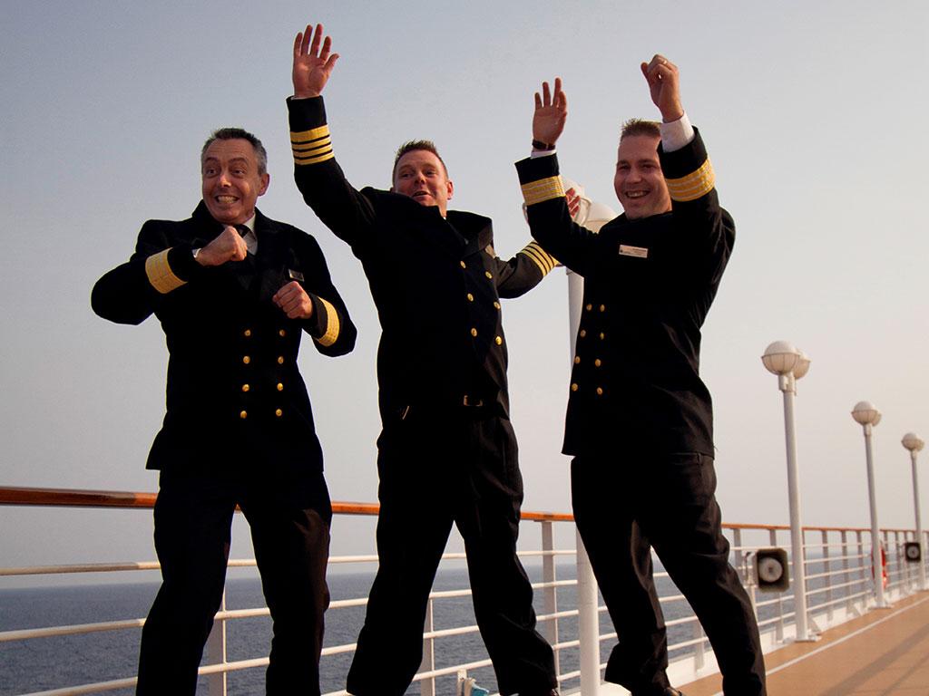 Azamara Club Cruises Deck