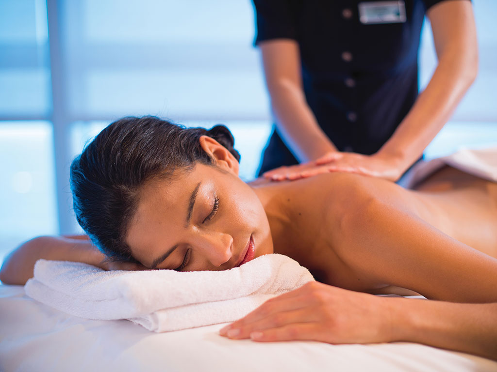 Celebrity Cruises massage