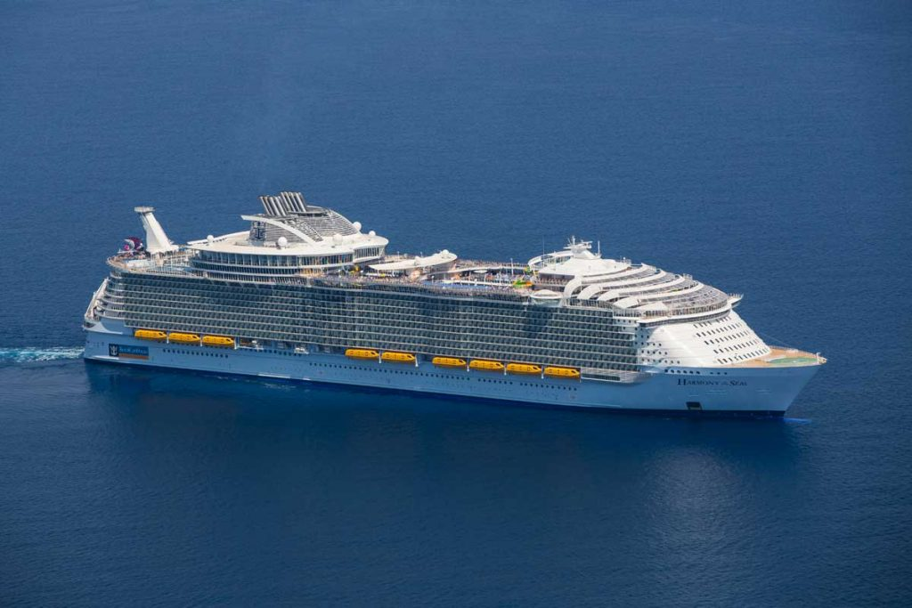 Royal Caribbean on sea