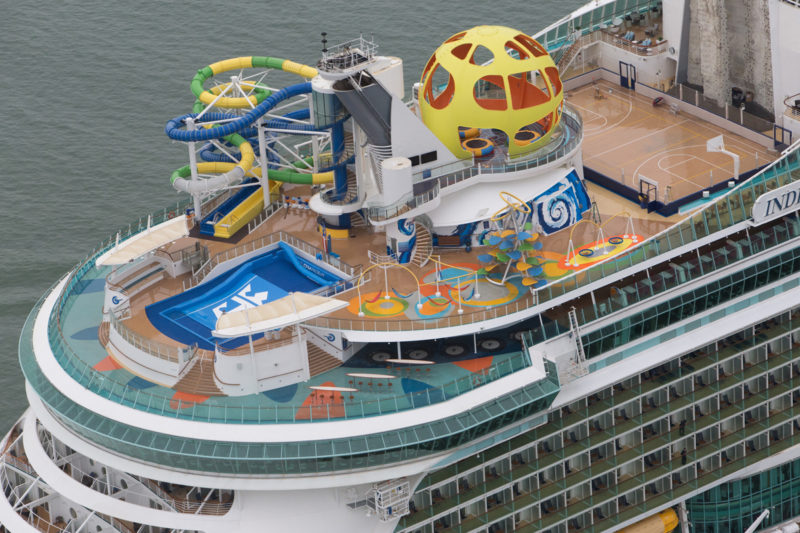 Royal Caribbean Sports deck