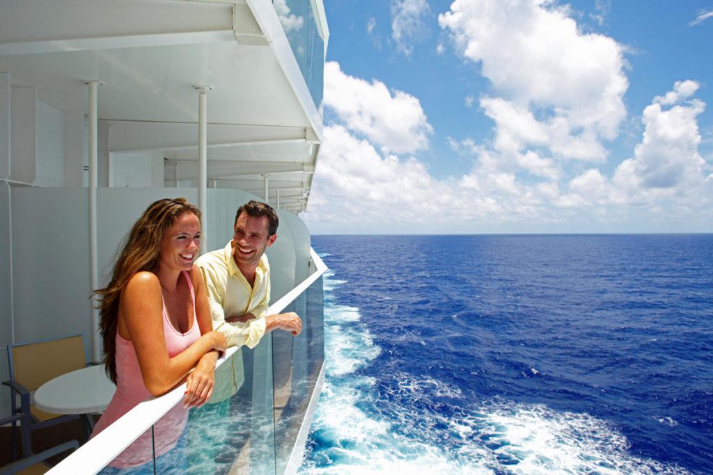 Royal Caribbean balcony