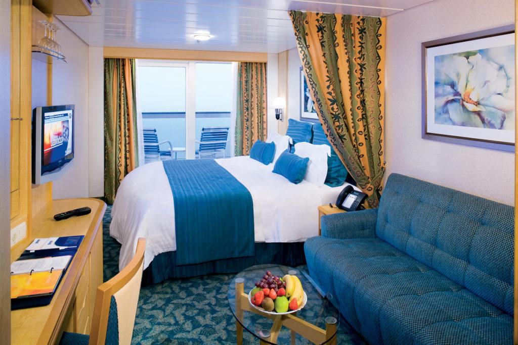 Royal Caribbean Deluxe ocean view room