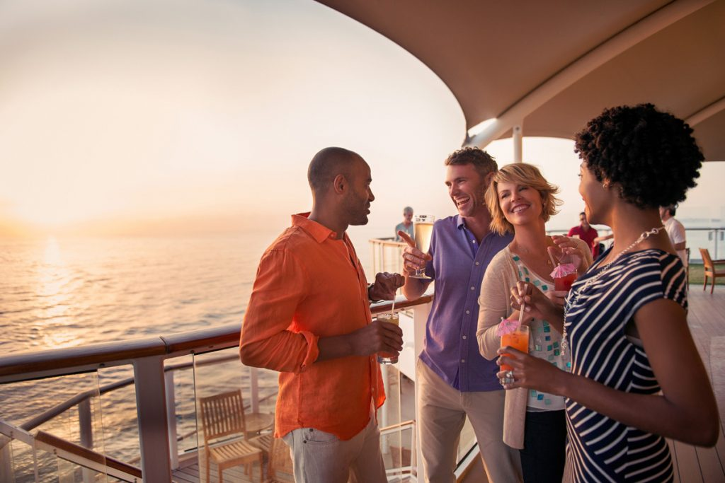 Celebrity Cruises Sunset bar