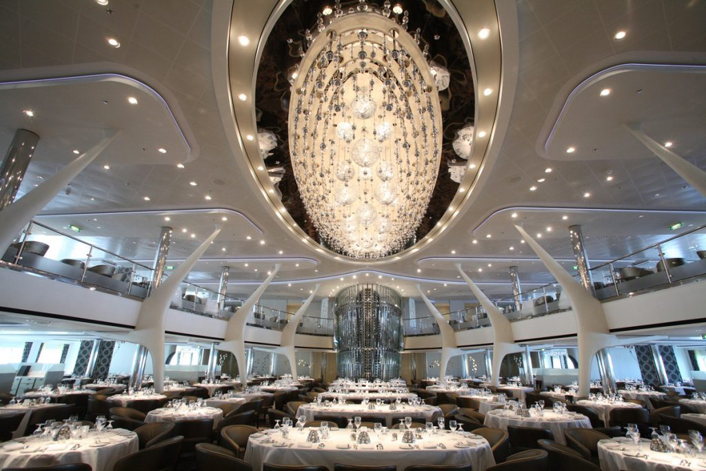 Celebrity Cruises Dining room