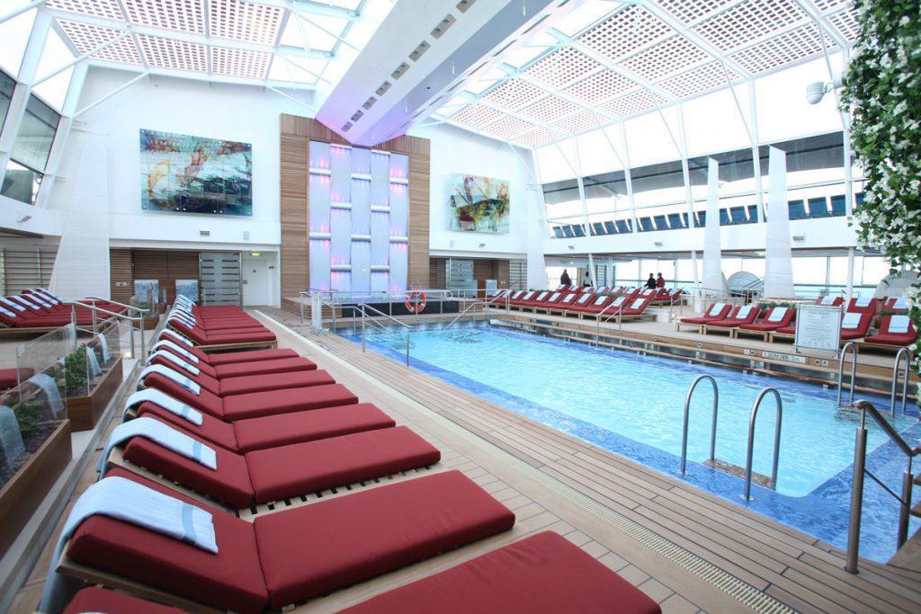 Celebrity Cruises solarium