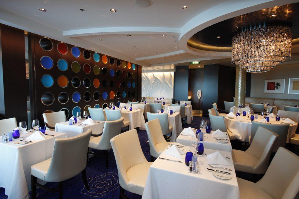Celebrity Cruises speciality restaurant