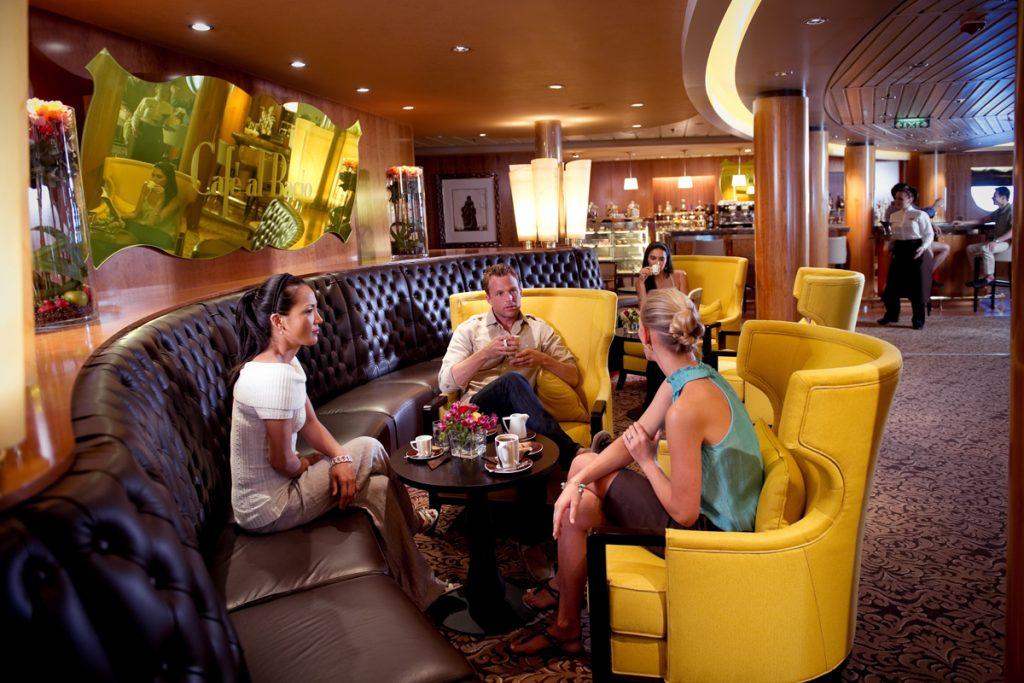 Celebrity Cruises café
