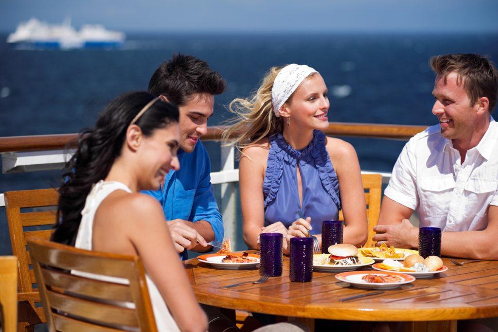 Celebrity Cruises Terrace