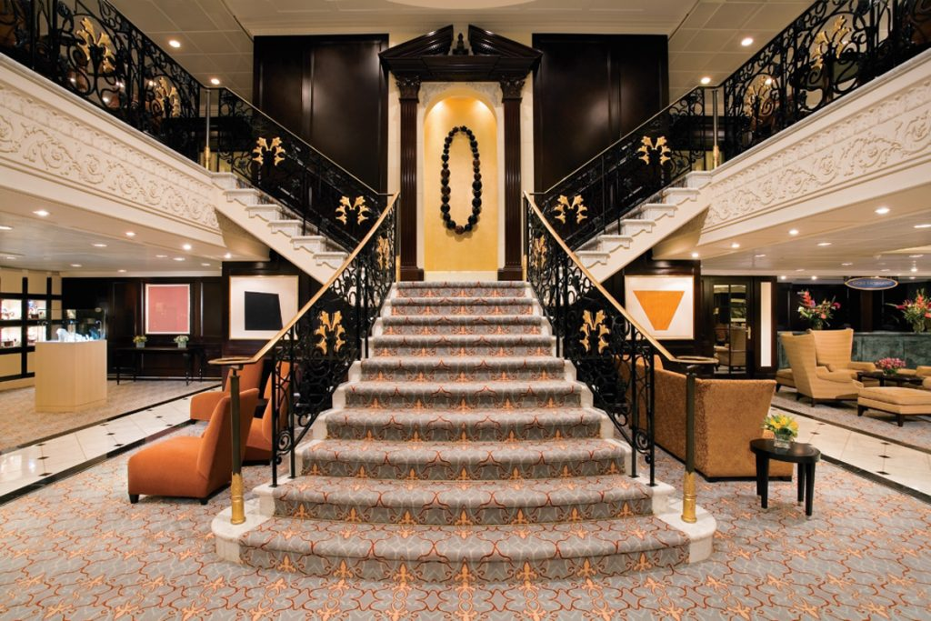 Stairs on cruise