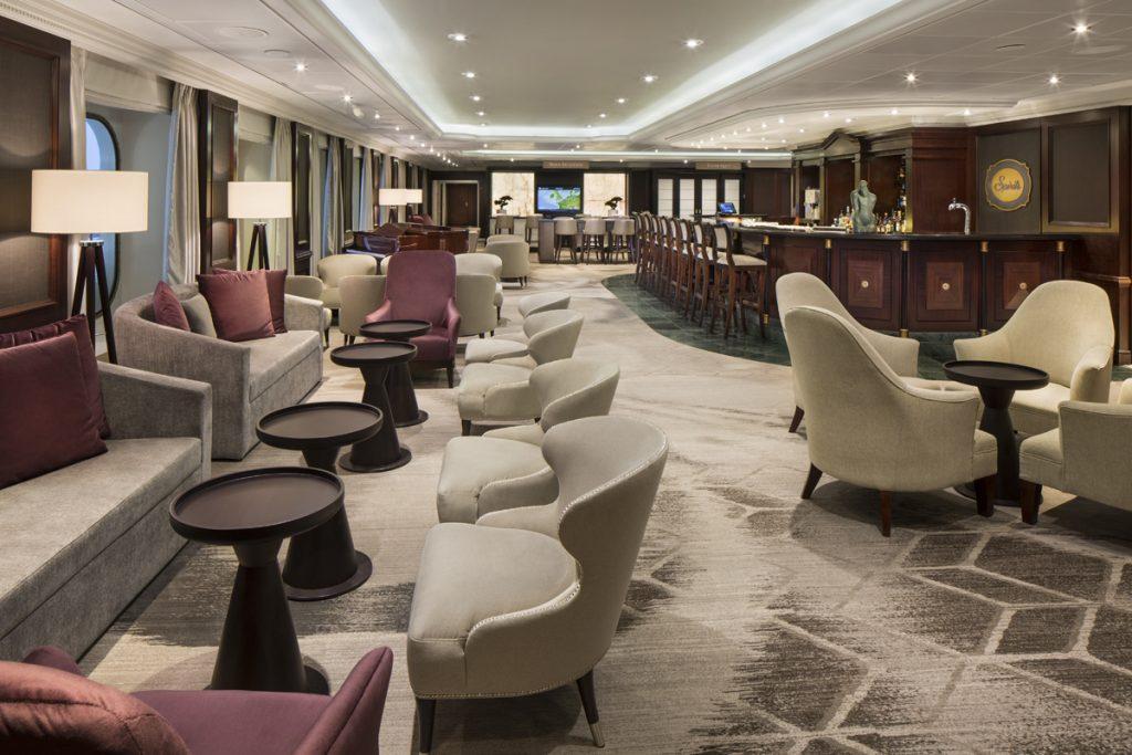 Lounge on cruise