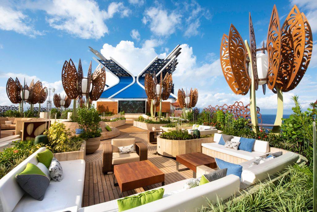 Rooftop garden cruise