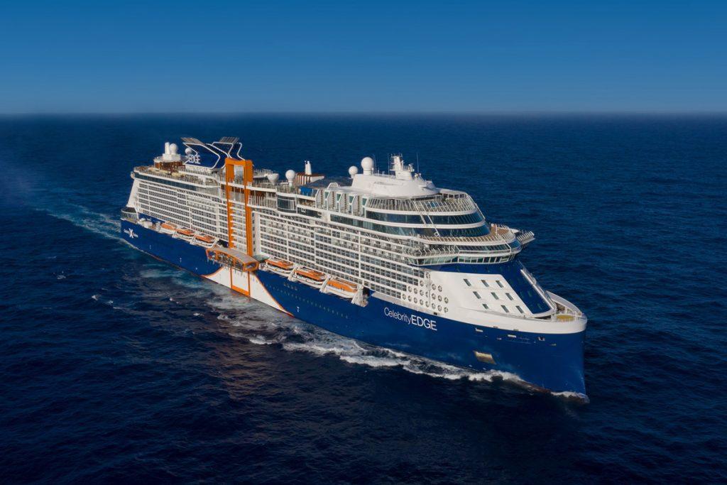 Cruise on sea