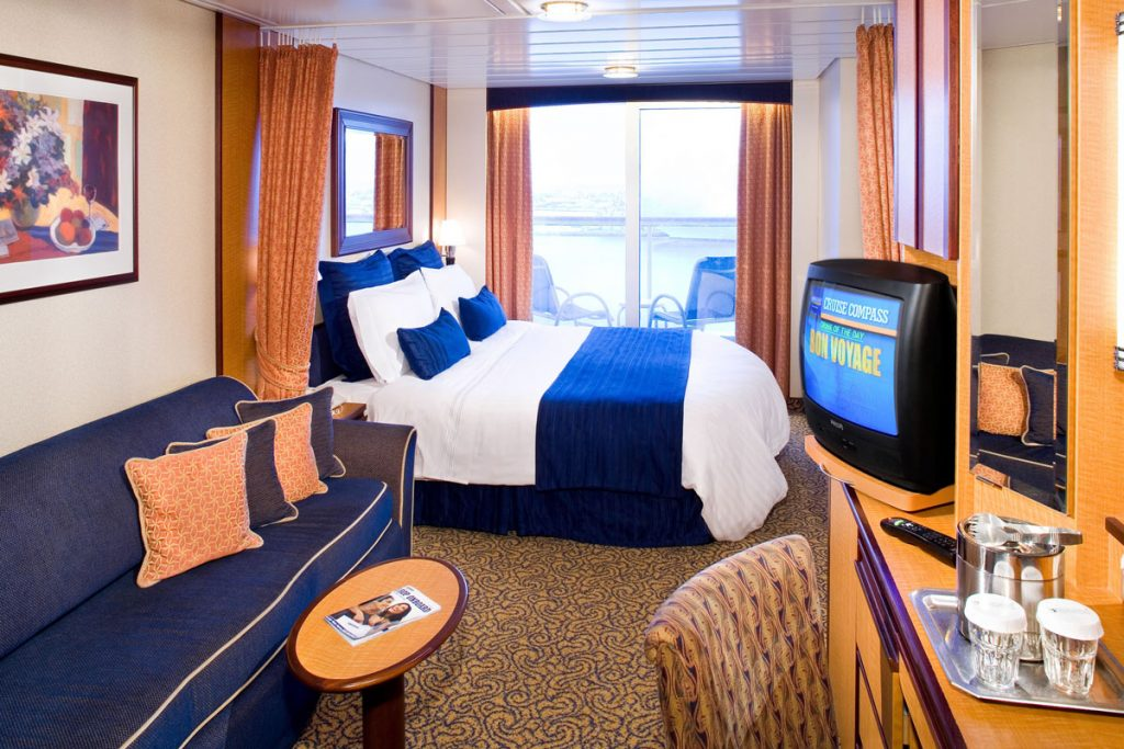 Room with ocean view cruise
