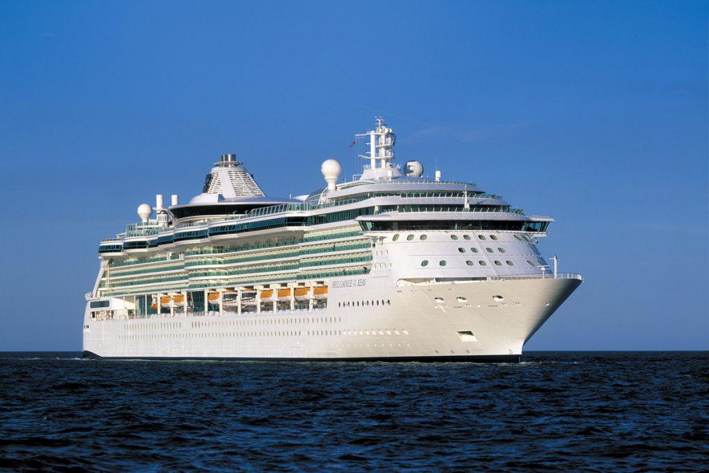 Exterior cruise on sea