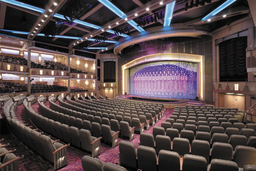 Theater on cruise