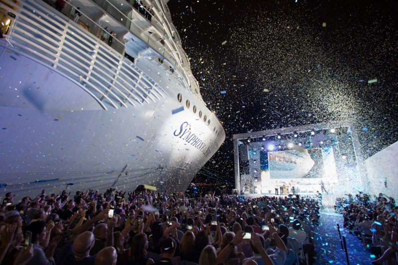 Concert on cruise