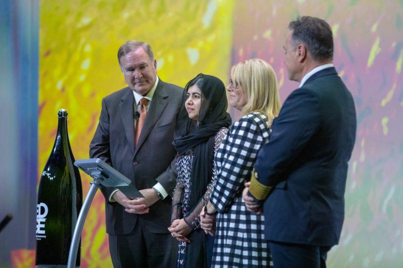 Malala Ceremony cruise
